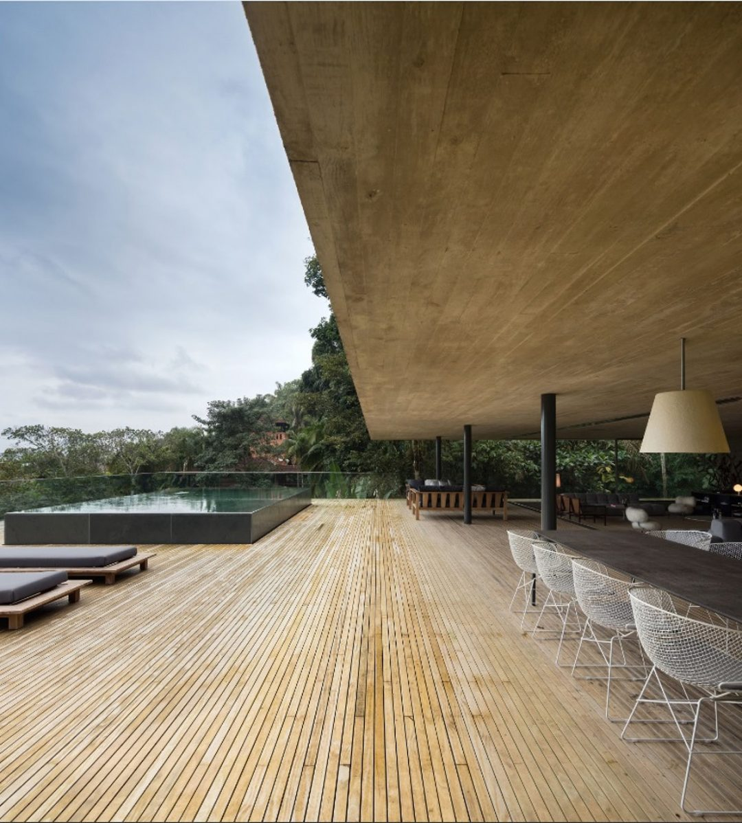 Accoya® was chosen for numerous features throughout this stunning Casa da Mata beach house