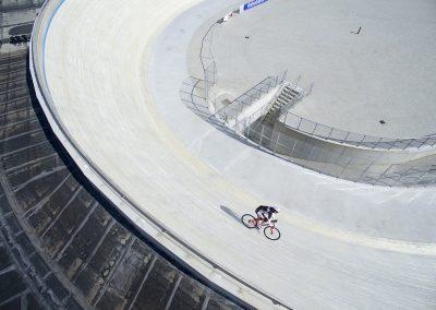 固雅木助力露天场地自行车跑道