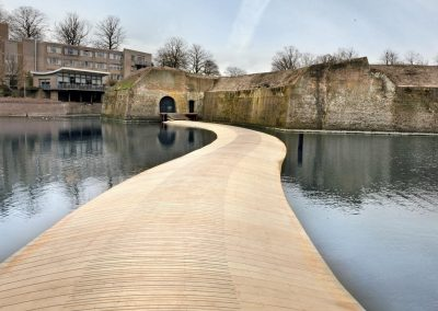 Accoya® Floating Bridge