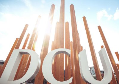 Accoya® marks entrance to Dublin City University