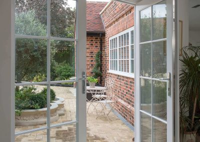 Accoya® selected for the French extension doors on a listed property