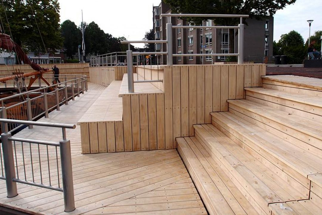 Accoya® selected to renovate the Steenbergen Marina