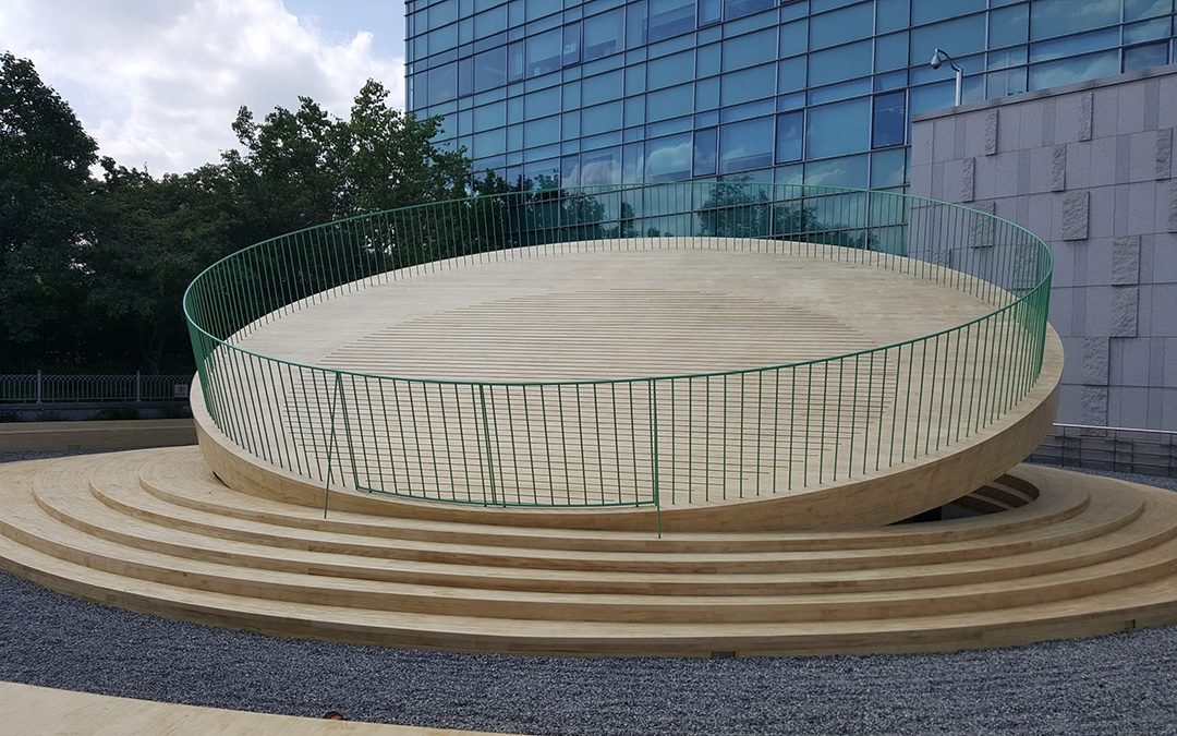 Accoya® selected for symbolic museum sculpture in Korea