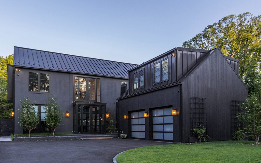 Charred Accoya® cladding chosen for the Bethesda Residence in Washington DC