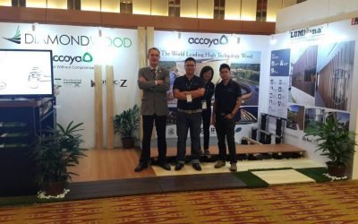 Accoya & Diamondwood in ARCHIDEX 2017