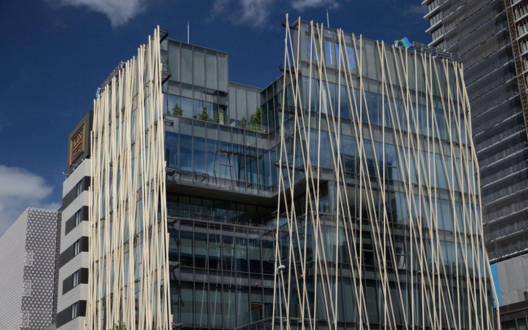 Hekikai Shinkin Bank chooses Accoya® wood facades, Japan