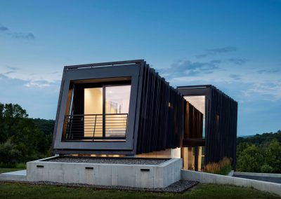 The Sleeve House utilises Accoya® in contemporary design