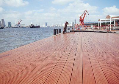 Passenger Bridge & Pier Decking, China