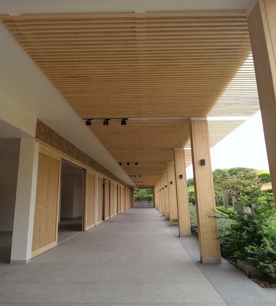 World Hotels Salinda Resort uses Accoya®